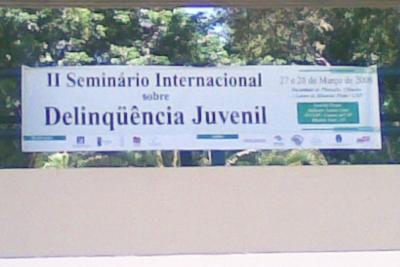 II Seminário Internacional sobre Delinqüência Juvenil