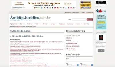 Revista Âmbito Jurídico